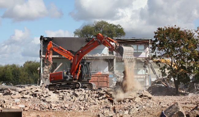 Christ College Demolition Project