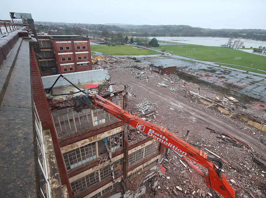 Cadbury's demolition project