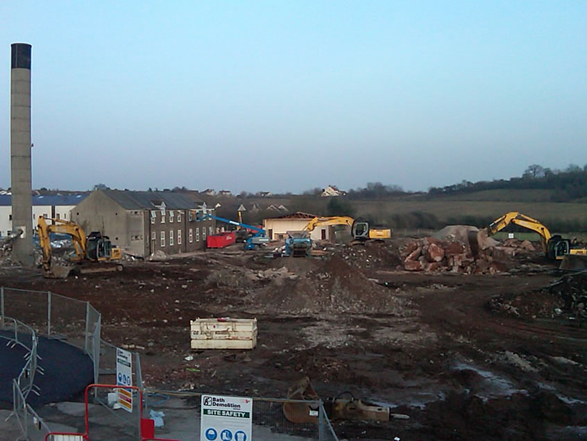 Hanham Hill Demolition Project